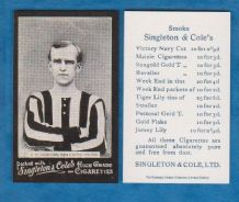 Newcastle United Jock Rutherford England